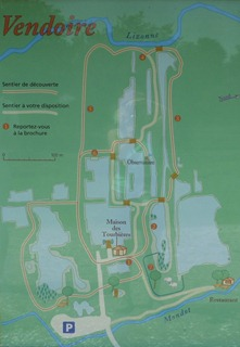 Les Tourbieres de Vendoire map 0